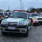 Policiais ambientais apreendem redes e materiais proibidos