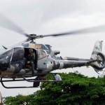 Aeronave socorre mulher em Guaraqueçaba