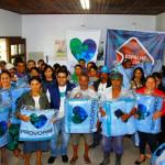 Provopar Estadual entrega 2 mil cobertores em Guaraqueçaba