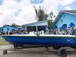 Entrega de ambulâncias náuticas reforça atenção à saúde em Guaraqueçaba